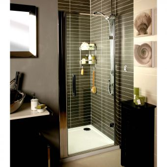 Roman Embrace Hinged Door Shower Enclosure