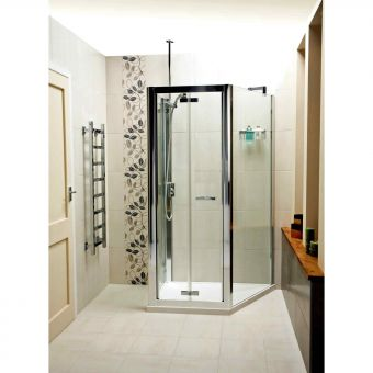 Roman Embrace Trapezium Space Saving Shower Enclosure