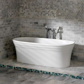 Victoria and Albert Warndon Freestanding Double Ended Bath