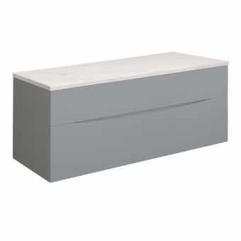 Crosswater Glide II 100cm Vanity Unit with Marble Worktop