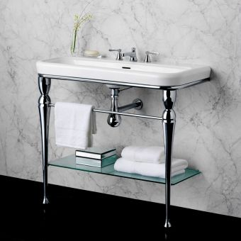 CHK Victoria and Albert Candella 100 Washstand & Basin