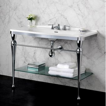 Victoria and Albert Candella 114 Washstand & Basin