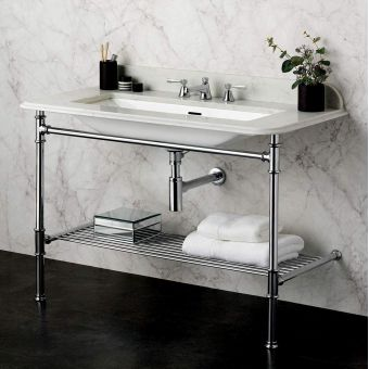 Victoria and Albert Metallo 113 Washstand & Basin