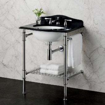 Victoria and Albert Metallo 61 Washstand & Basin