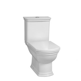 Vitra Serenada Closed Coupled Toilet with Soft Close Seat