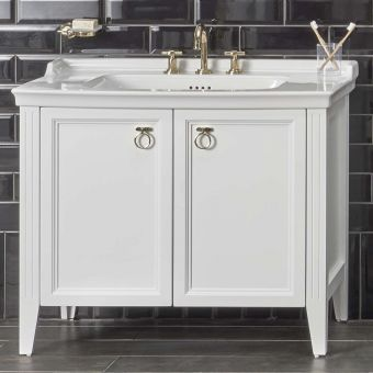 VitrA Valarte 2 Door 100cm Vanity Unit and Basin