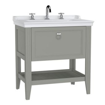 VitrA Valarte 1 Drawer 80cm Console and Basin