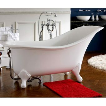 Victoria and Albert Drayton Victorian Freestanding Slipper Bath