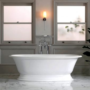 Victoria and Albert Elwick Double Ended Freestanding Bath