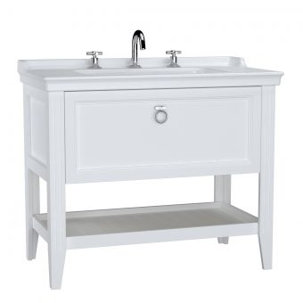 VitrA Valarte 1 Drawer 1000mm Console and Basin