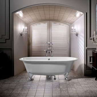 Victoria and Albert Radford Double Ended Roll Top Bath