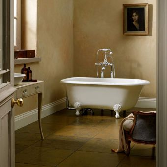 Victoria and Albert Wessex Victorian Freestanding Roll Top Bath