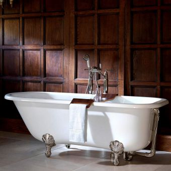 Victoria and Albert Hampshire Edwardian Freestanding Roll Top Bath