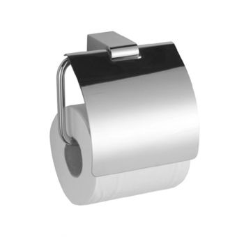 Saneux Molten Toilet Roll Holder with Cover
