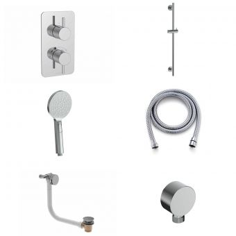 Saneux COS Shower Package with 3 Function Handset