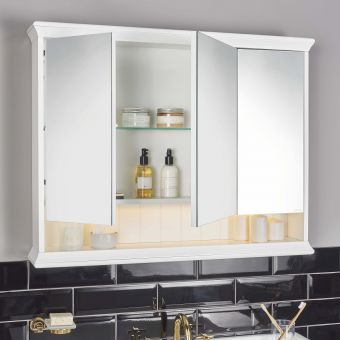 VitrA Valarte 3 Door Bathroom Mirror Cabinet