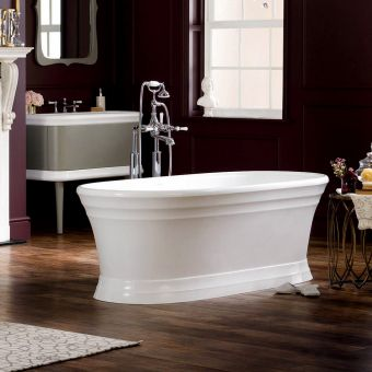 Victoria and Albert Worcester Traditional Double Ended Freestanding Bath