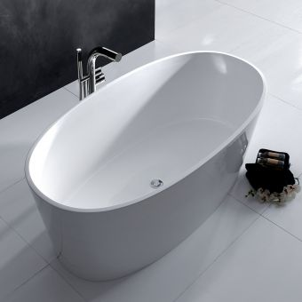 Victoria and Albert Tubo 14 Floorstanding Bath Mixer with Handheld Shower
