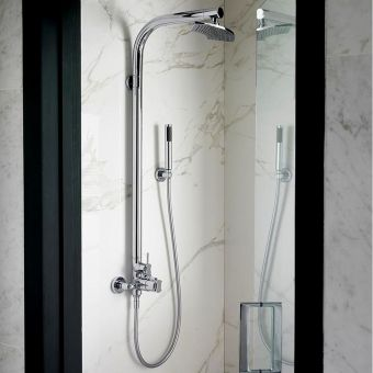 Victoria and Albert Tubo 20 Exposed Valve Thermostic Shower with Handset