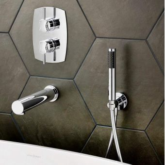 Victoria and Albert Tubo 42 Wall Mounted Handheld Shower