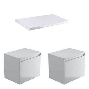 Saneux Podium 1000mm Countertop Vanity Unit