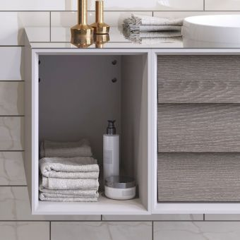 VitrA Frame Open Bathroom Wall Cupboard