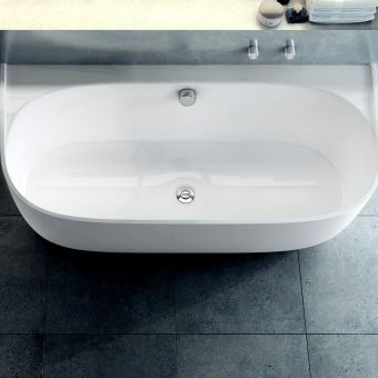 Victoria And Albert Kit 60 Combined Bath Filler and Overflow with Waste