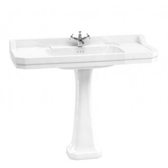 Burlington Medici Edwardian 1200mm Basin and Classic Pedestal