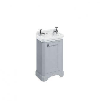 Burlington Medici 510mm Free-Standing Cloakroom Vanity Unit