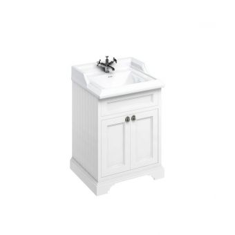 Burlington Medici Free-Standing Cloakroom 2 Door Vanity Unit
