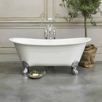 Burlington Medici Batello Freestanding Grande Bath