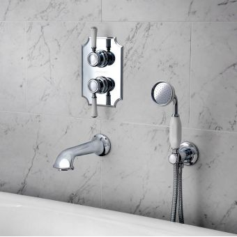 Victoria and Albert Staffordshire 42 Wall Mounted Handheld Shower