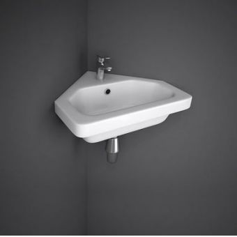 RAK Resort Corner Cloakroom Wash Basin