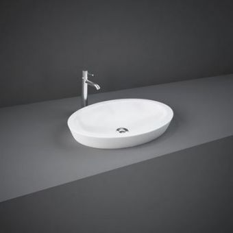 RAK Resort Oval Countertop Wash Basin