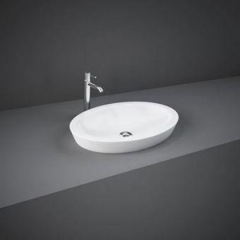 RAK Resort Oval Countertop Wash Basin - RST58CTBAS