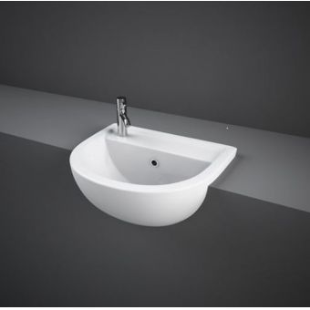 RAK Compact Semi Recessed Basin
