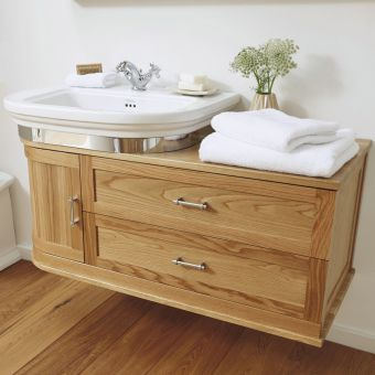 Imperial Thurlestone Offset Curved Vanity Unit