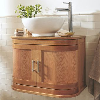 Imperial Thurlestone Curved 2 Door Vanity Unit for Washbowls