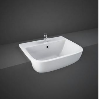 RAK Series 600 Semi Recessed Wash Basin
