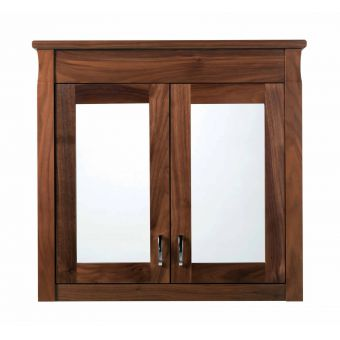 Imperial Astoria Deco Barrington 2 Door Wall Cabinet With Mirrors