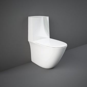 RAK Sensation Close Coupled Back to Wall Rimless WC