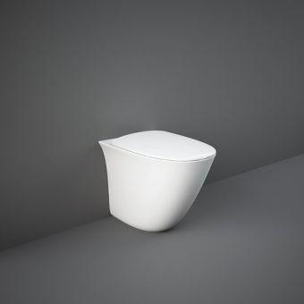 RAK Sensation Floor Standing Back to Wall Rimless Toilet with Seat