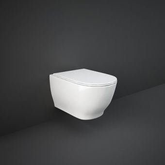RAK Moon Wall Hung Rimless WC