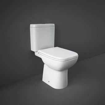 RAK Origin Open Back Close Coupled Toilet Suite