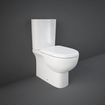 RAK Tonique Close Coupled Back to Wall Toilet Suite