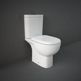 RAK Tonique Open Back Close Coupled Toilet Suite
