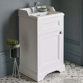 Burlington 500mm Floorstanding Vanity Unit