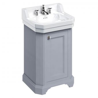 Burlington Edwardian 56cm Floorstanding Vanity