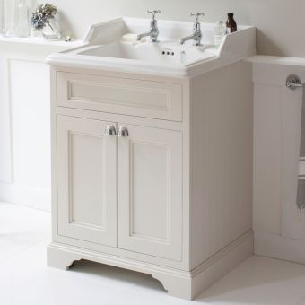 Burlington 650mm 2 Door Vanity with Classic Basin