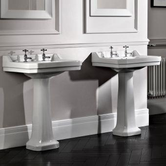 Tavistock Vitoria 605mm Bathroom Basin